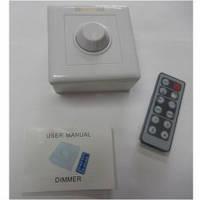 Диммер для LED ленты 12V, 6A, с инфракрасным пультом управления (IR12-T1)
