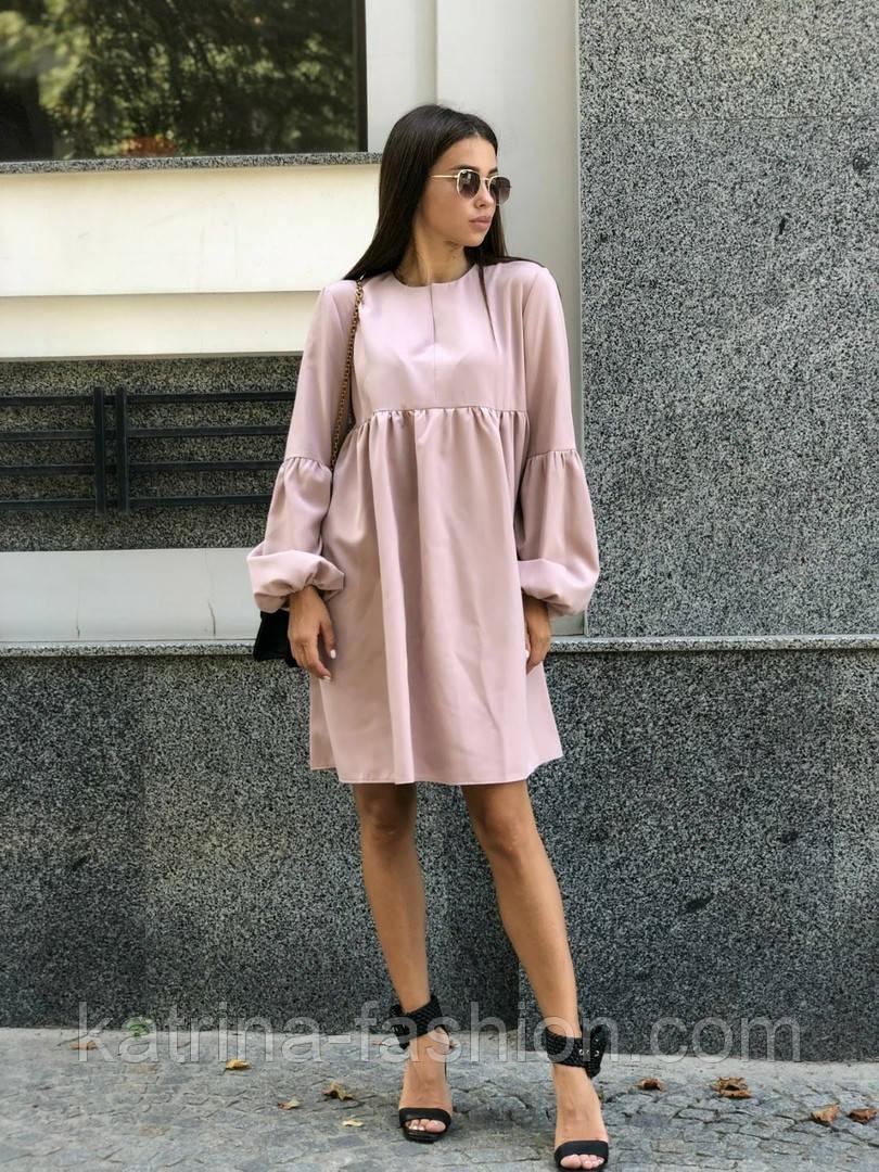 Женское платье свободного кроя (в расцветках)