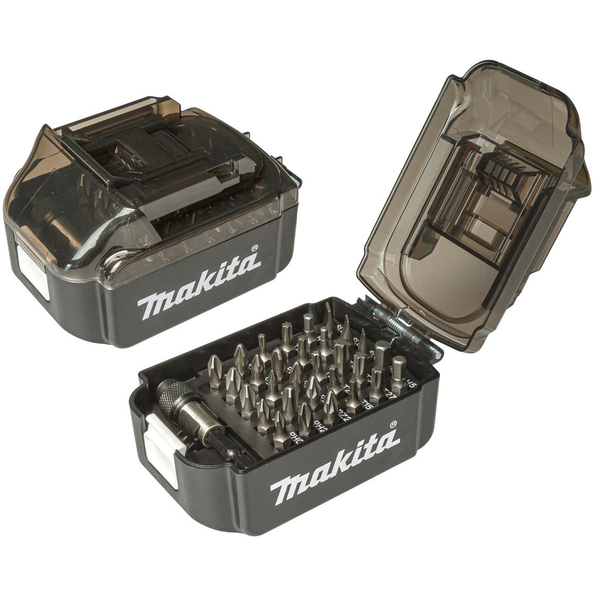 Набор бит в футляре формы батареи Makita LXT 31 шт (B-68317)