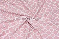 Ранфорс 240 см Марокко рожевий, фото 1