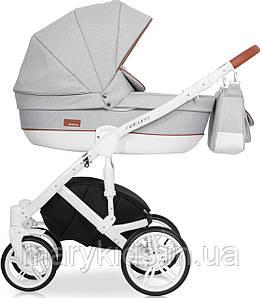 Дитяча універсальна коляска 3 в 1 Riko Naturo 01 Grey Fox