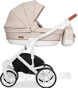 Детская универсальная коляска 2 в 1 Riko Naturo 02 Latte