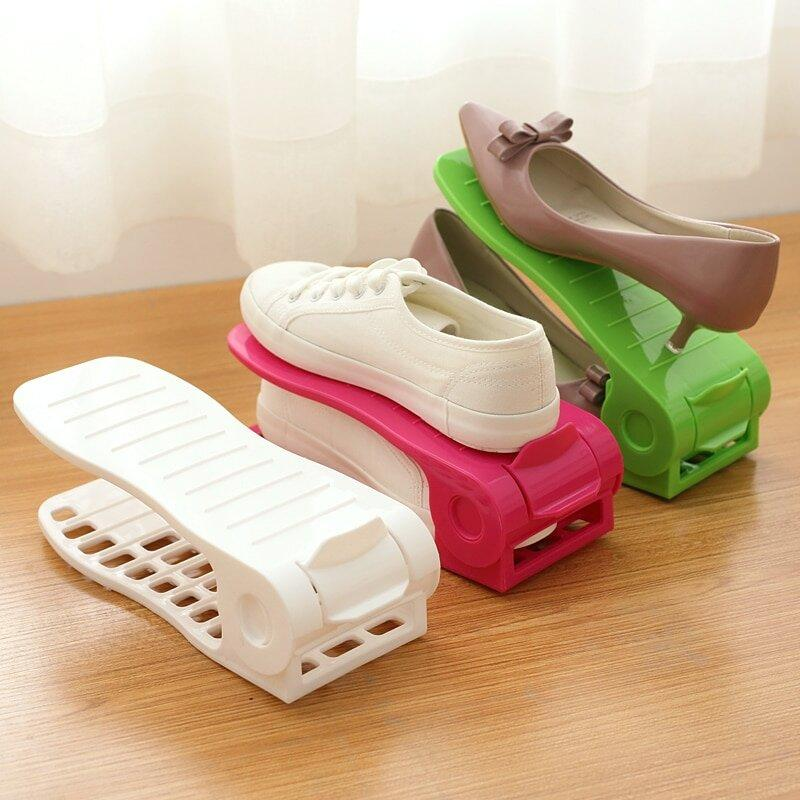 """Двойная подставка для обуви, органайзер для обуви """"Double Shoe"""""""