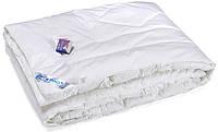 "Демисезонное одеяло Руно™ искусственный лебяжий пух ""White Swаn"" 140х205см Тик, фото 1"