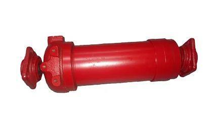 Гидроцилиндр ЗИЛ подъема кузова (4-х штоковый усиленный) 554-8603010-27