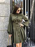 Женское платье-рубашка плиссировка (в расцветках), фото 5