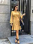 Женское платье-рубашка плиссировка (в расцветках), фото 6