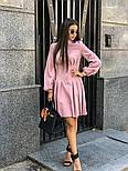 Женское платье-рубашка плиссировка (в расцветках), фото 8