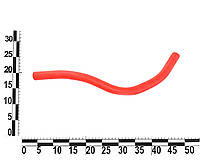 Патрубок расширительного бака 2111-2112 силиконовый