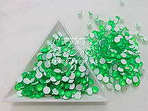 Стразы ss16 Neon Green 100шт, (4.0мм)