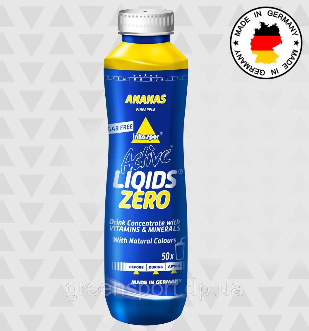 Изотоник Inkospor Active Liqids Zero (500 мл) Ананас