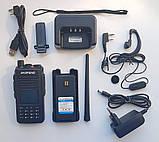 Радіостанція цифрова портативна BAOFENG DM-1702 GPS VHF/UHF, фото 3