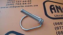 826/00600 Стопор пальца переднего ковша (40мм) на JCB 3CX, 4CX, фото 3