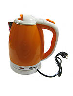 Электрочайник Domotec MS-5022 чайник 2L Orange, фото 1