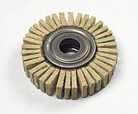 Круг войлочный лепестковый а.т.т. 150*30*32мм тонкошерстный