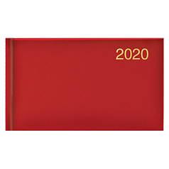 Еженедельник датированный 2020 BRUNNEN MIRADUR Карманный, з/т, красный