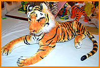 Самый большой тигр игрушка | Мягкая игрушка тигр большой купить