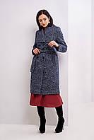 Женское пальто длины миди