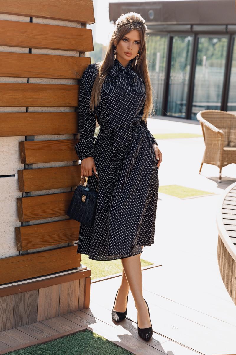 Платье LiLove 704 44-46 черный
