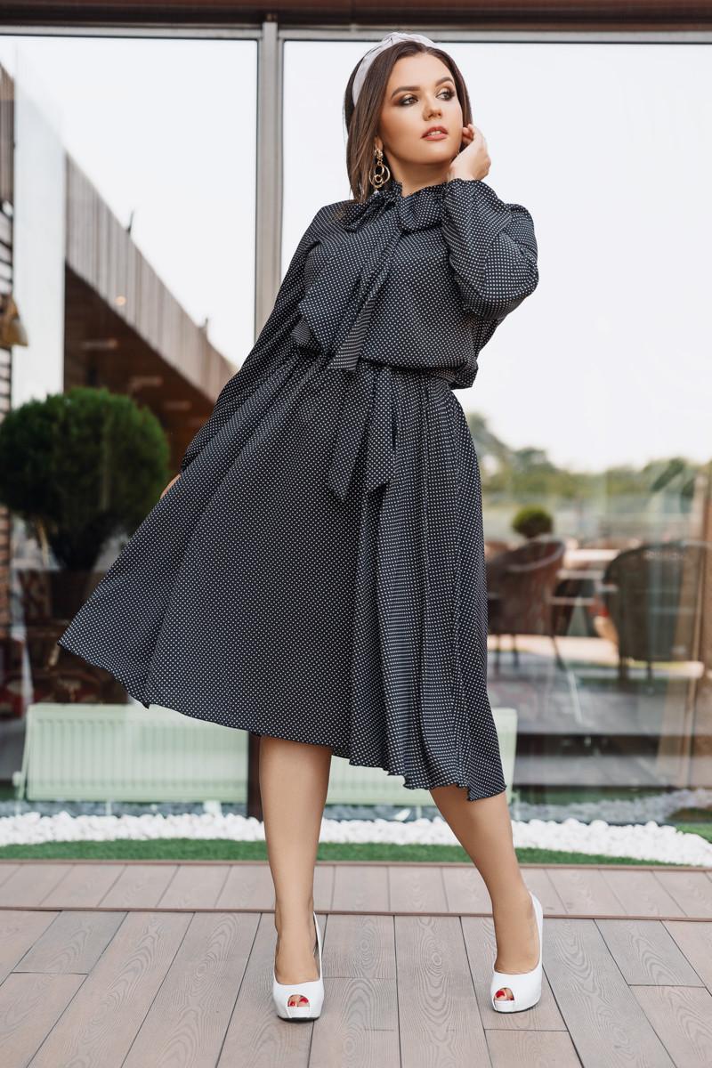 Платье LiLove 704 48-50 черный