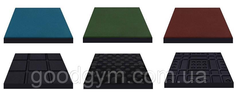 Плитка резиновая (квадрат), фото 2