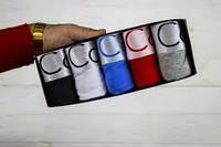 Набор Calvin Klein Steel мужские трусы 5 шт. Нижнее белье Келвин Кляйн 5 шт