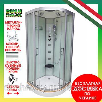 Душевой бокс VERONIS BN-5-90 белый 90х90х220