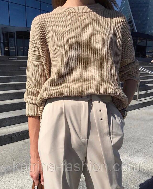 Женский базовый джемпер / свитер (в расцветках)