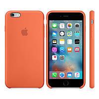 Чехол Soft Silicone Case для Apple iPhone 6/6S Оранжевый, фото 1