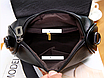 Женская сумка кросс боди с плетением Crown Черный, фото 4