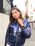 Женская куртка бомбер с довязом (4 цвета), фото 4