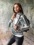 Женская куртка бомбер с довязом (4 цвета), фото 2