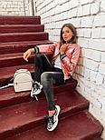 Женская куртка бомбер с довязом (4 цвета), фото 8