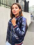 Женская куртка бомбер с довязом (4 цвета), фото 9