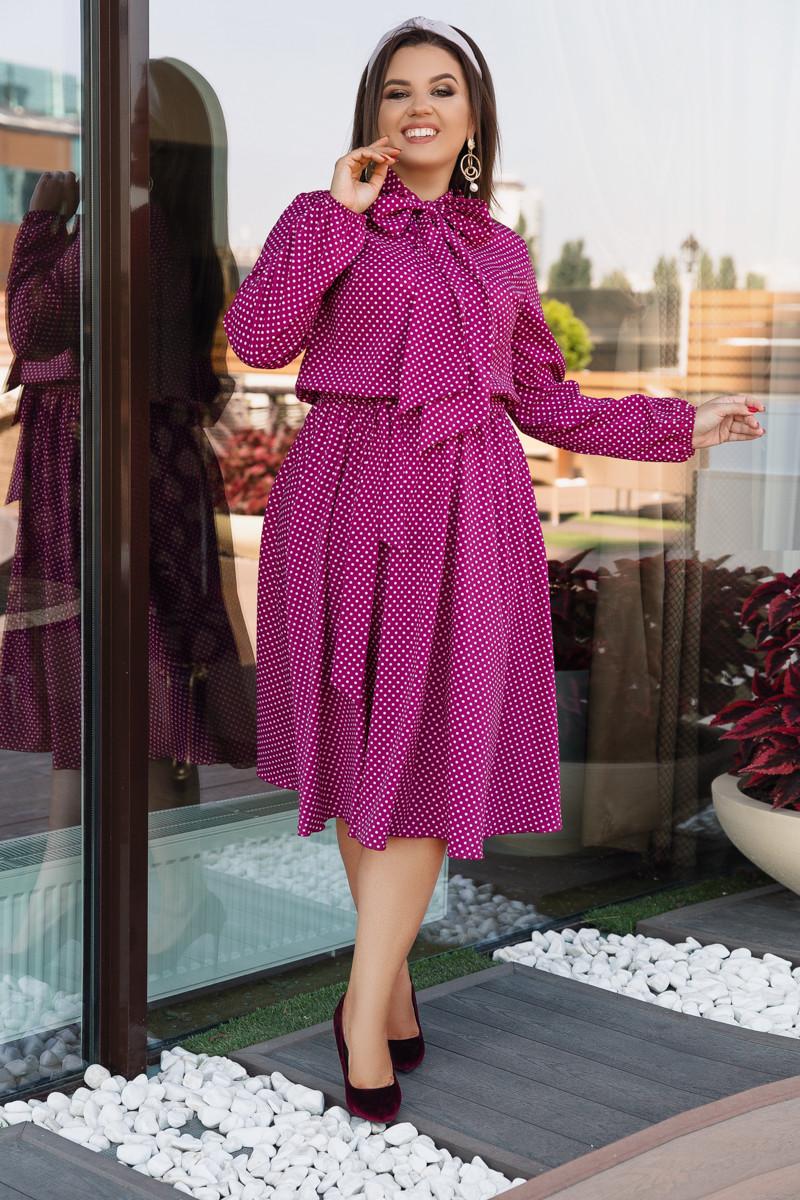 Платье LiLove 704-1 52-54 фуксия