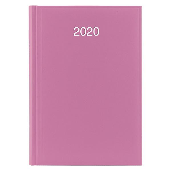 Ежедневник датированный 2020 BRUNNEN MIRADUR Стандарт 7956022 розовый