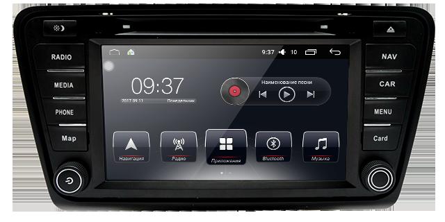 Штатная автомагнитола AudioSourceS T90-840A для (Skoda Octavia A7, Octavia A7 Combi, Octavia A7 Combi Scout)