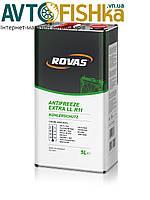 Антифриз концентрат. Antifreeze LL R11 (1л) (ROVAS), фото 1