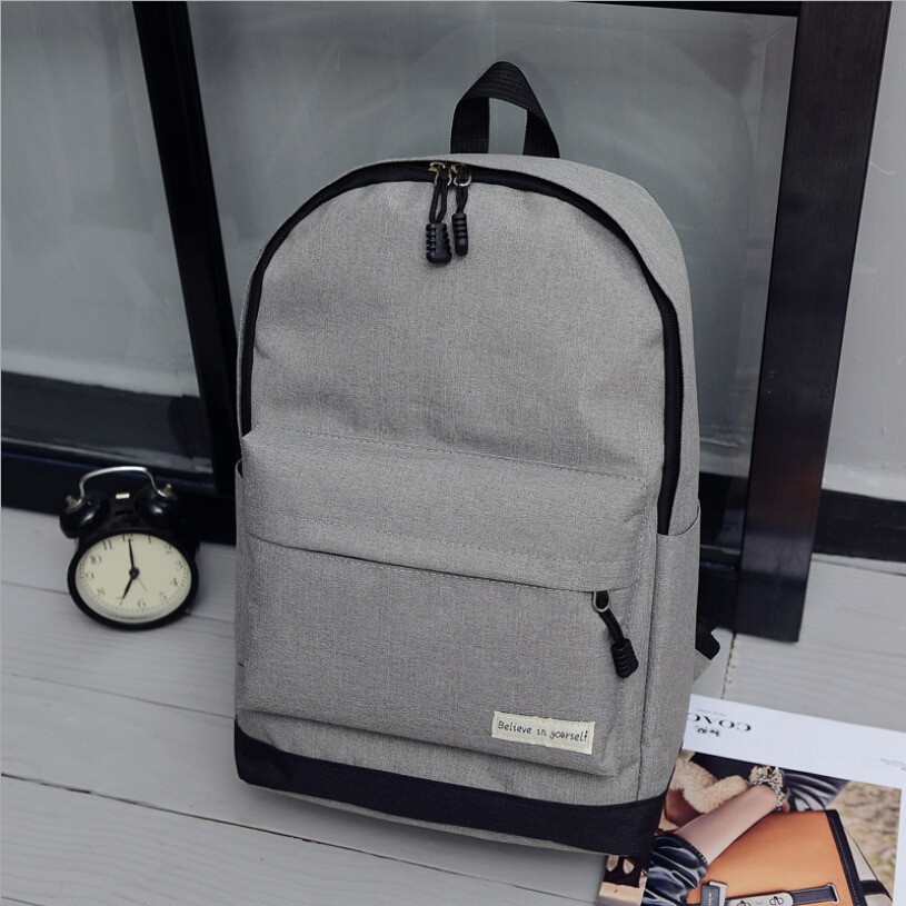 Рюкзак городской спортивный унисекс (серый)
