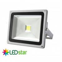 Прожектор светодиодный LED Star, 220V, 50Вт, холодно-белый свет 6500К, IP65