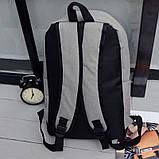 Рюкзак городской спортивный унисекс (серый), фото 5