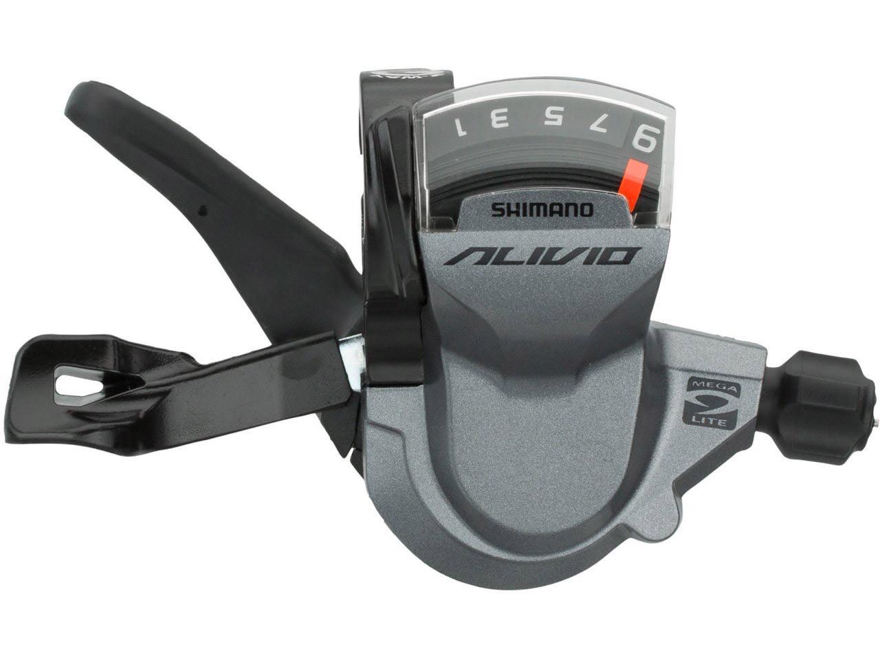 Манеткапереключения скоростей Shimano Alivio SL-M4000, правая (9скоростей)