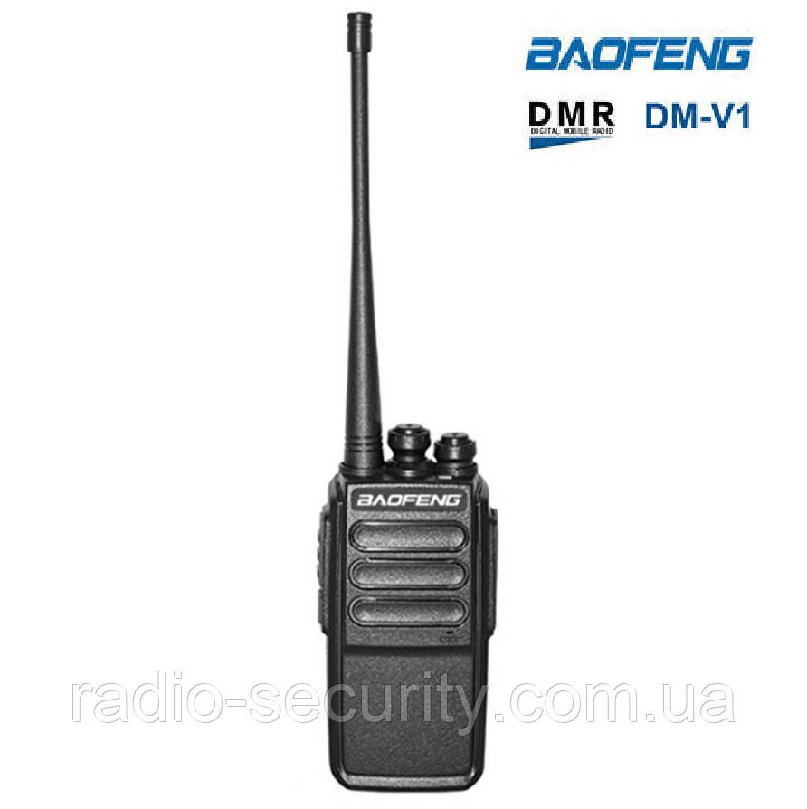 Радіостанція цифрова портативна BAOFENG DM-V1 DMR UHF