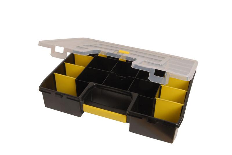 Ящик инструментальный (кассетница 43 x 9 x 33 см) с переставными перегородками  STANLEY 1-94-745