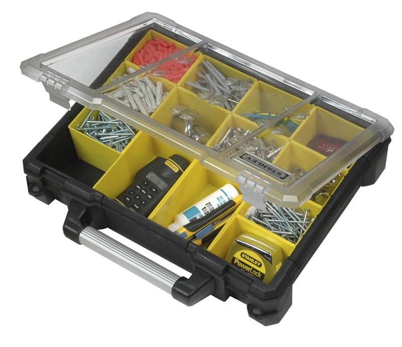 Ящик инструментальный (кассетница профи 49Х43Х11см)    STANLEY 1-93-293