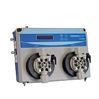Станция дозирования для бассейна Seko Kontrol Invikta Double PH-Cl с мембранными насосами 5 л/час