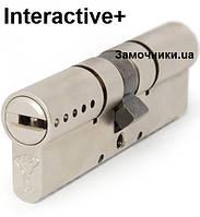 Цилиндр Mul-T-Lock INTERACTIVE 62мм.(27х35) ключ-ключ (матовый хром) ()