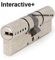 Цилиндр Mul-T-Lock INTERACTIVE 71мм.(33х38) ключ-ключ (матовый хром) ()