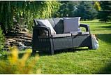 Corfu Love Seat садові меблі з штучного ротанга, фото 7