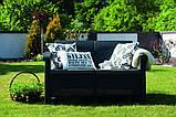 Corfu Love Seat садові меблі з штучного ротанга, фото 10